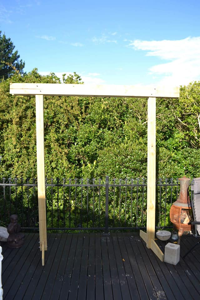 Photo of item: Wooden Arch